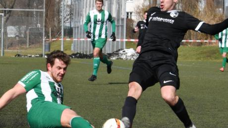 Die FCG-Abwehr musste zwar umgebaut werden, Fabio Kühn (links) räumte dabei wie gewohnt ab.