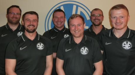 Die neue Führungsspitze der Fußballer des SV Erlingen: (von links) Martin Schmidt, Matthias Mayr, Maximilan Deller, Christian Bayer, Martin Hörmann und Michael Kratzer. Es fehlt Mario Halbedl.