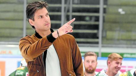 Der ehemalige Nationaltorhüter Leonardo Conti ist Prokurist und Marketingmanager der Augsburger Panther.