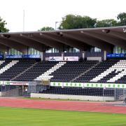 Hier feierten die Ulmer Spatzen den Durchmarsch in die Bundesliga und betrauerten den Rückweg. Für höhere Ligen gibt es hier jetzt aber keine Lizenz mehr.