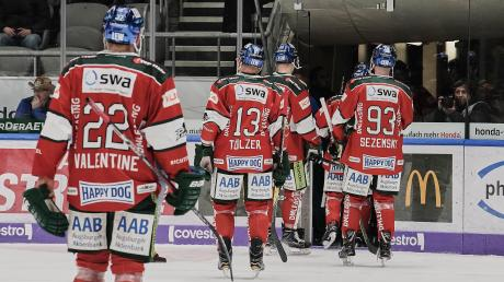 Plötzlicher Abgang: Von einer Sekunde auf die andere war die Saison der Augsburger Panther und der gesamten Deutschen Eishockey-Liga beendet.