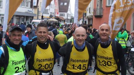"""Auch beim diesjährigen Ipf-Ries-Halbmarathon werden eigens gekennzeichnete """"Pacemaker"""" das passende Tempo für eine angepeilte Endzeit vorgeben."""