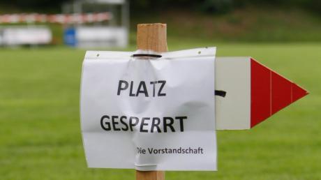 Nichts geht mehr im lokalen Sport. Nahezu alle Wettkämpfe sind abgesagt, selbst der Trainingsbetrieb ist zum Teil eingestellt. Der Bayerische Fußball-Verband hat alle Punktspiele der nächsten beiden Wochen abgesetzt.