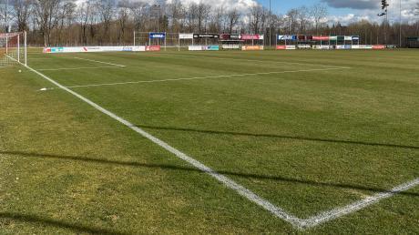 Auch am Samstag wird der Fußballplatz im 3C-Sportpark leer bleiben: Der Bayerische Fußballverband hat alle Spiele bis einschließlich 23. März abgesagt.
