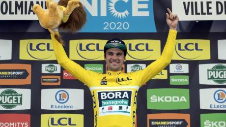 Geschafft: MaximilianSchachmann feierte bei Paris-Nizza einen Start-Ziel-Sieg.