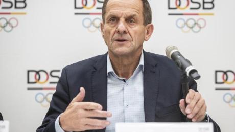 Fürchtet nach der Corona-Krise finanzielle Einbußen für den Sport:DOSB-Präsident Alfons Hörmann.