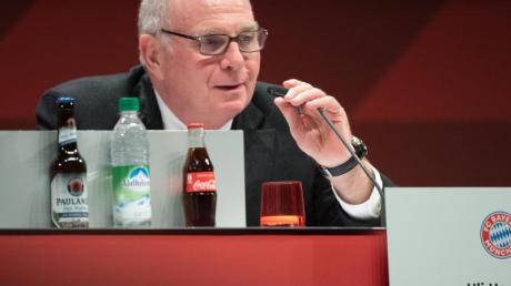 Fordert eine lange Pause aufgrund der Corona-Krise: Ex-Bayern-Boss Uli Hoeneß.
