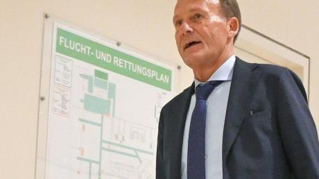 Steht nach seinen Aussagen zur Corona-Krise in der Kritik: Hans-Joachim Watzke, Geschäftsführer von Borussia Dortmund.