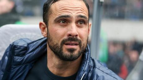 Wird in der neuen Saison nicht mehr Trainer von Hertha BSC sein: Alexander Nouri.