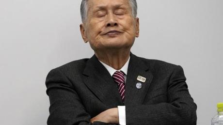 Yoshiro Mori ist der Präsident des Organisationskomitees der Olympischen Spiele in Tokio.