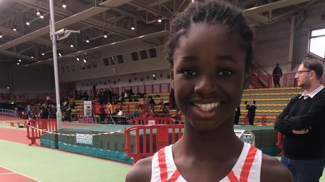 Sie möchte einmal bei den Paralympics starten: Luana Neburagho aus Friedberg.