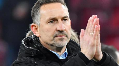 Mainz-Trainer Achim Beierlorzer: «Die Situation ist befremdlich.».