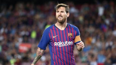 Auch Superstar Lionel Messi bekommt weniger Gehalt vom FC Barcelona.