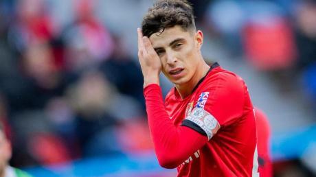 In der Corona-Krise fällt der Transferwert des Leverkuseners Kai Havertz.