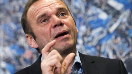 Muss den Chefsessel beim HSV räumen:Bernd Hoffmann.