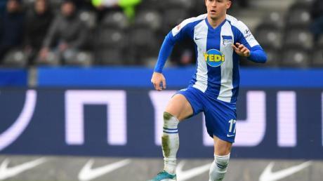 Zockte für Hertha BSC bei der «Bundesliga Home Challenge»: Maximilian Mittelstädt.