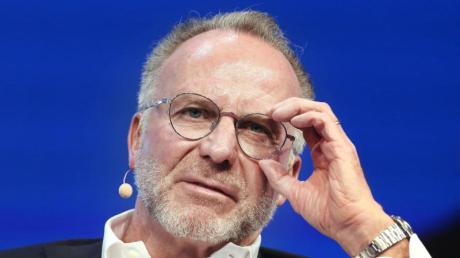 Der Vorstandsvorsitzende vom FC Bayern München Karl-Heinz Rummenigge.