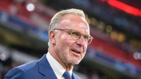Karl-Heinz Rummenigge könnte sich unter Umständen sogar vorstellen, die laufende Saison bis zum September zu Ende zu spielen.