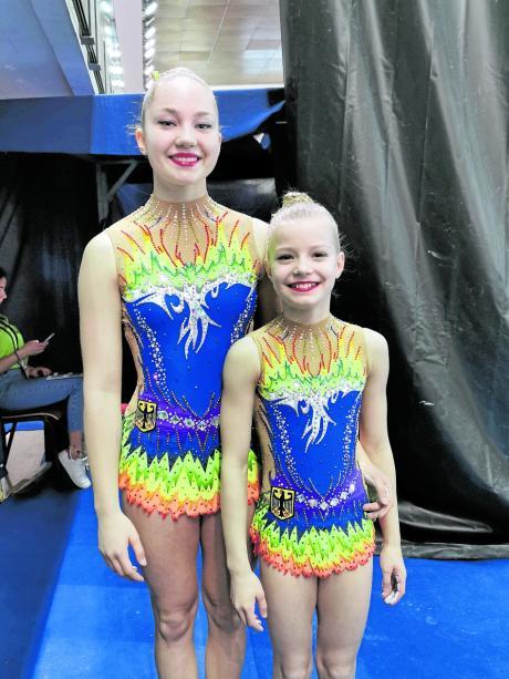 Sie trugen in Portugal stolz den Bundesadler und können nun heuer nicht zur WM in die Schweiz: Jana Semenchenko (links) und Lilly Maresch.