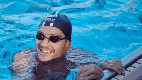 Im eigenen Pool will Jan Frodeno 3,8 Kilometer schwimmen.