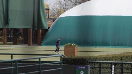 Auch der Tennis-Klassiker in Wimbledon wurde abgesagt.
