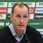 Heiko Herrlich ist Trainer des FC Augsburg, stand aber noch kein Bundesligaspiel für den Verein an der Seitenlinie.