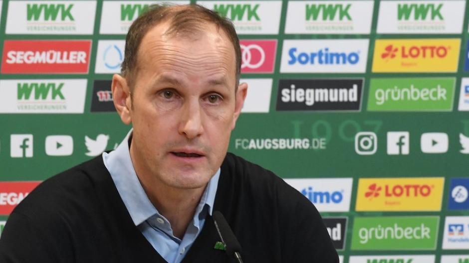 Heiko Herrlich ist Trainer des FC Augsburg.