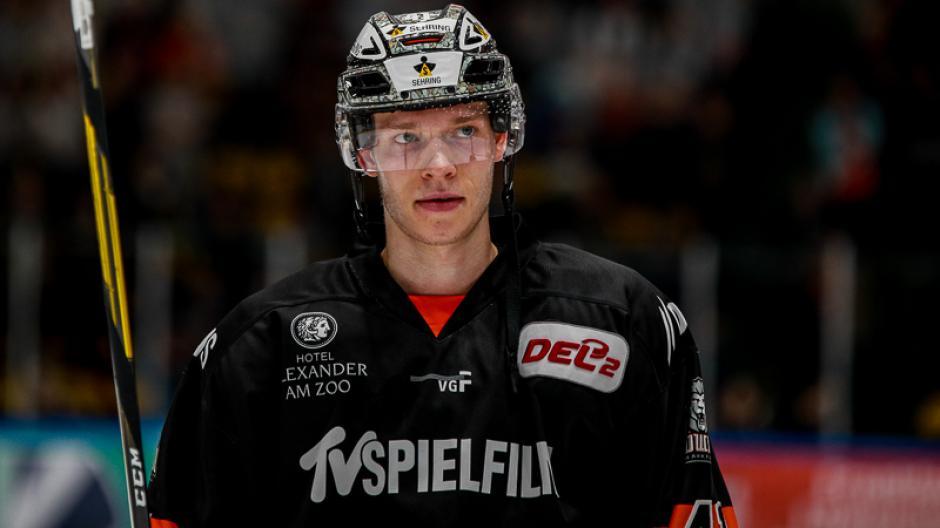 Max Eisenmenger läuft in der kommenden Saison für die Augsburger Panther auf-.