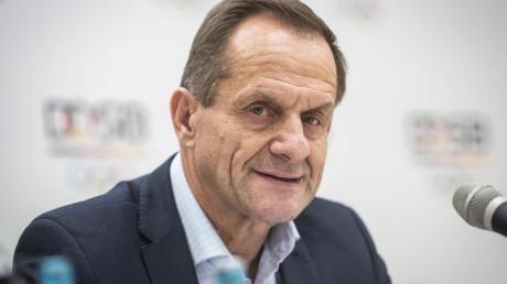 Präsident des Deutschen Olympischen Sportbundes: Alfons Hörmann.