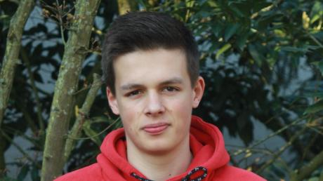 Geht für die U18- und Herren-Mannschaft des TSV Neuburg auf Korbjagd: Das 18-jährige Ausnahme-Talent Johannes Ried.