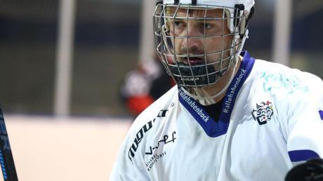 Tore sind sein Ding: Oliver Dotterweich ist einer der besten Skaterhockeyspieler Deutschlands.