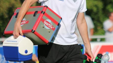 Der Holländer Jan Beumer, engagierter und kompetenter Physiotherapeut bei den Fußballern des TSV Nördlingen.