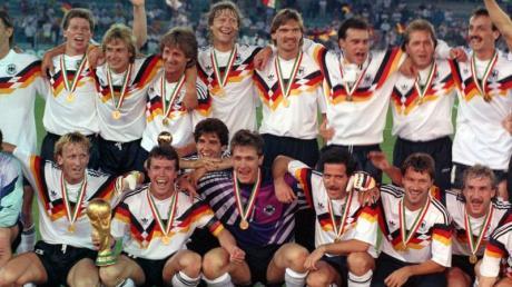 Wird im Osterprogramm auf «sportschau.de» aufgearbeitet: Der deutsche WM-Sieg 1990 in Italien.