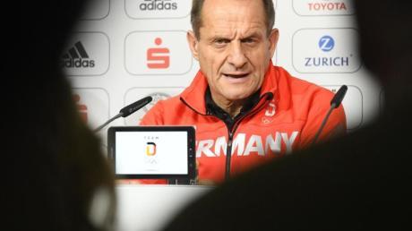 Besorgt: DOSB-Präsident Alfons Hörmann.