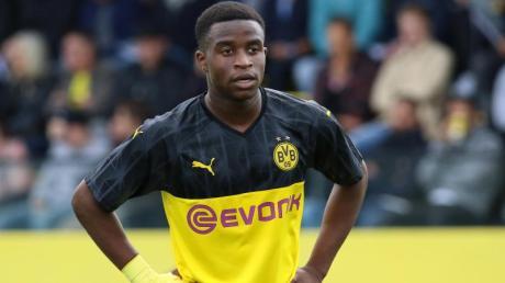 Steht kurz davor, der bis dato jüngste Bundesliga-Spieler zu werden: Dortmunds Youssoufa Moukoko.