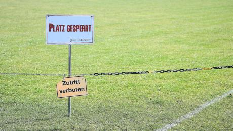 Die Sportstätten in der Region sind weiterhin gesperrt. Da müssen die Fußballer was das Training betrifft alternative Wege gehen.