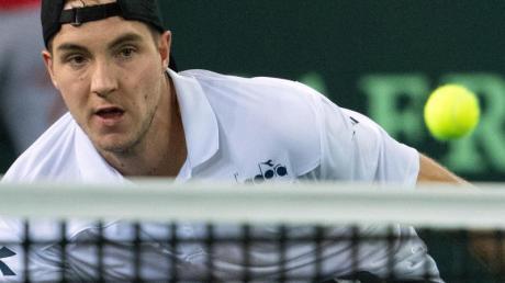 Auch Jan-Lennard Struff will bei der neuen Tennis-Serie mitspielen.