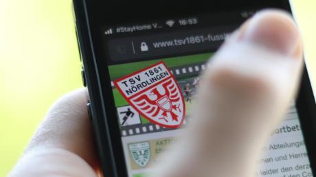 Der TSV Nördlingen informiert Mitglieder, Fans und Sponsoren über seine Homepage. Über das Smartphone ist man schnell informiert.