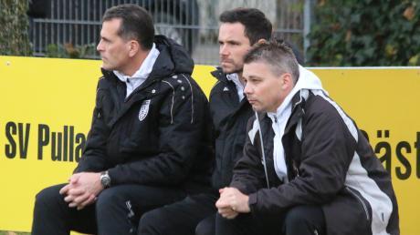 Der TSV Nördlingen hat gegen den Vorschlag des Vorstandes des Bayerischen Fußball-Verbandes (BFV) gestimmt, die Spielzeit 2019/2020 bis zum 31. August auszusetzen. Unser Bild zeigt von links: Andreas Schröter, Daniel Kerscher und Andreas Langer.