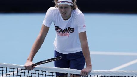 Schließt eine Teilnahme am Davis Cups nicht aus: Tennis-Ass Alexander Zverev.
