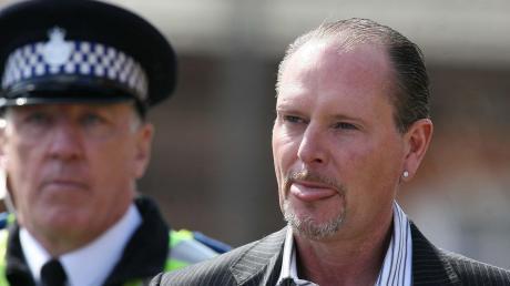 Paul Gascoigne – die Polizei war selten Freund und Helfer des exzentrischen ehemaligen Fußballstars.