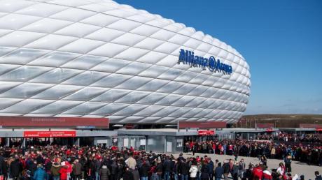 Die Allianz Arena in München soll ein Spielort der Fußball-EM 2021 sein.