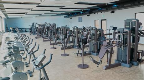 Leere Trainingsräume wie hier der Fitnessbereich des Post SV Augsburg sind seit Wochen die Realität in den Sportvereinen.