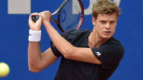 Yannick Hanfmann ist von dem Turnier in Höhr-Grenzhausen begeistert.