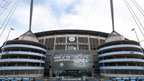 Auch im Etihad Stadion von Manchester City wird derzeit nicht gespielt.