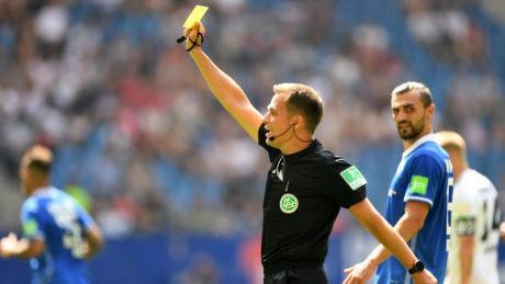 Bundesliga-Schiedsrichter Robert Hartmann kommt aus Wangen im Allgäu.