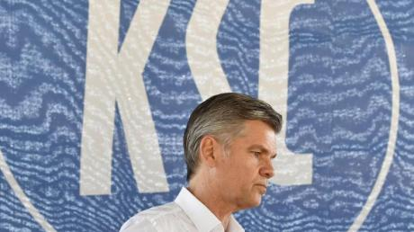 Gibt sein Amt als KSC-Präsident ab: Ingo Wellenreuther.