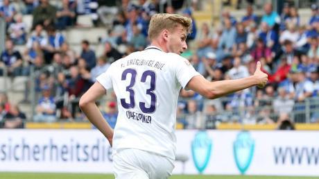 Der Immendorfer Christoph Daferner steht mit dem Team des FC Erzgebirge Aue vor den Neustart nach der Corona-Krise.