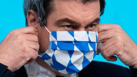 Bayerns Ministerpräsident Markus Söder (CSU) erntet für seine Corona-Pläne viel Kritik.