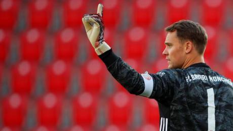 Hat seinen Vertrag beim FCBayern verlängert: Kapitän Manuel Neuer.